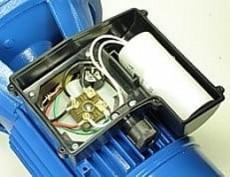 Motor mit Kondensator