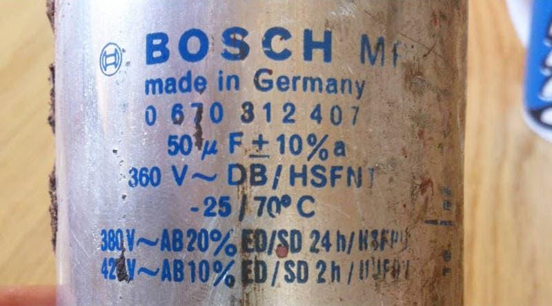 Bosch Kondensator