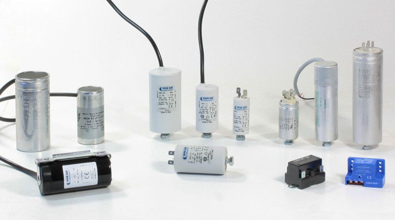Betriebskondensatoren, Anlaufkondensatoren, Anlaufrelais