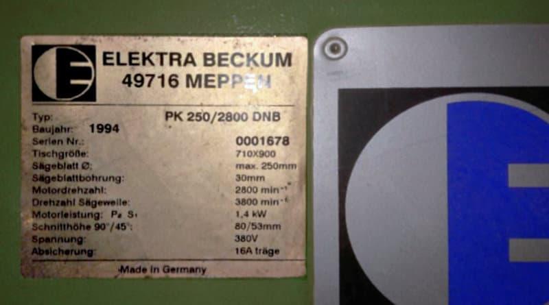 Motorschalter für Elektra Beckum PK250/2800 DNB